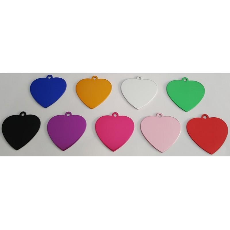 Medaglietta a forma di cuore