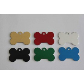 PET ID TAG BONE