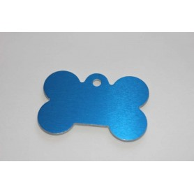 MEDAL FOR DOG BONE WITH ENGRAVING FREE OF CHARGE VARIOUS COLORS