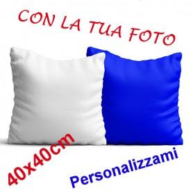 Cuscino con Federa Bicolore 40x40cm