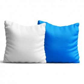 Cuscino in Raso Bicolore 40x40cm Personalizzato con la tua foto