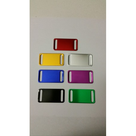 DOG TAG FOR DOGS PASSACOLLARE FREE ENGRAVING VARIOUS COLORS